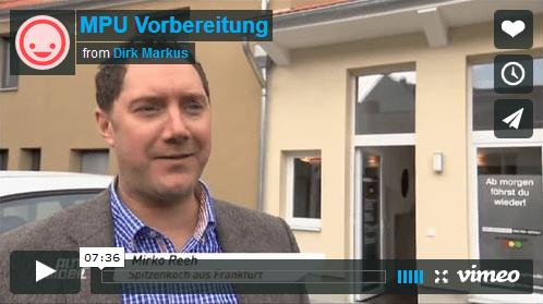 MPU frankfurt - VOX Beitrag